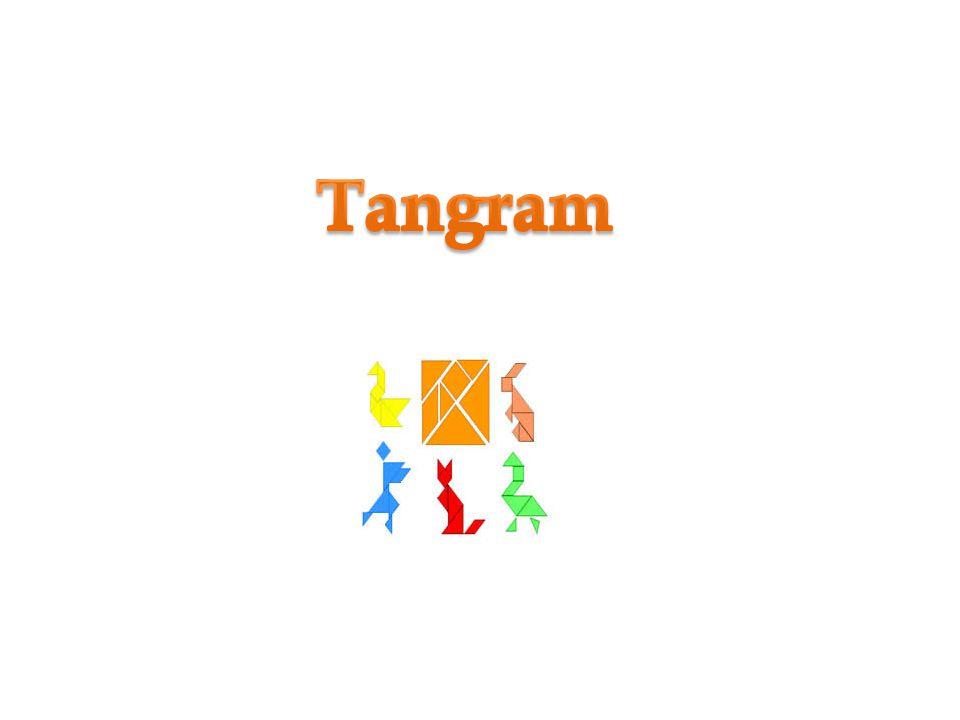 Tangram é um quebra-cabe ç a chinês formado por 7 pe ç as (5 triângulos, 1 quadrado e 1 paralelogramo) Com essas pe ç as podemos formar v á rias figuras, utilizando todas elas e sem sobrepô- las.