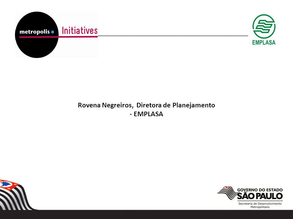 Rovena Negreiros, Diretora de Planejamento - EMPLASA