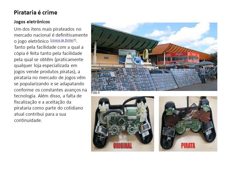 créditos Imagens:www.google.com Texto:www.google.com Alunos:Gabriel M,Bruno Pirataria é crime