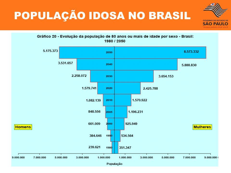 POPULAÇÃO IDOSA NO BRASIL