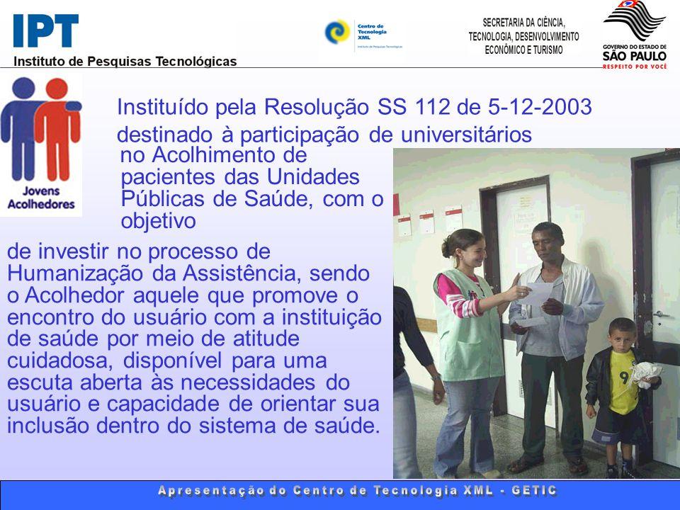 Além da Bolsa, o Universitário terá direito a um Curso com temas relacionados à Saúde, Cidadania e Humanização da Assistência, além da supervisão técnica, ao longo dos doze meses de duração da Bolsa.