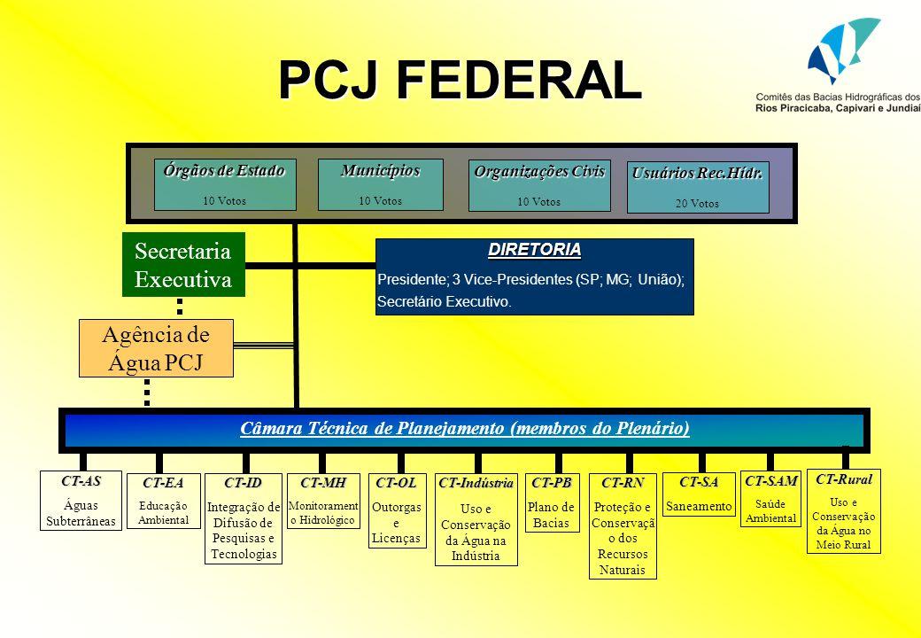 CBH-PJ DIRETORIA Presidente; Vice-Presidente; Secretário Executivo.