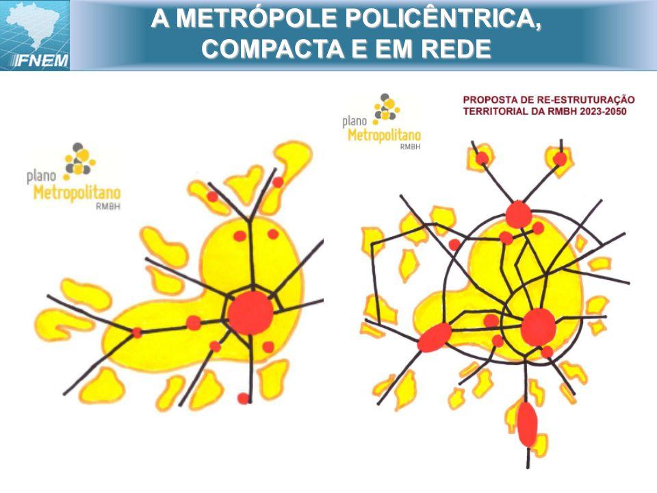 A METRÓPOLE POLICÊNTRICA, COMPACTA E EM REDE