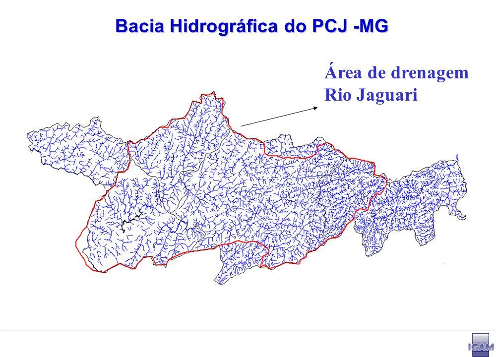 Outorgas concedidas na Bacia PCJ - MG (março/2004)