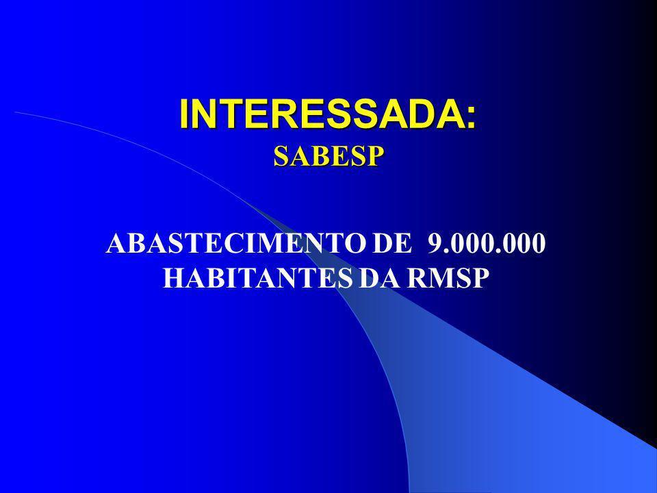 SISTEMÁTICA DE TRABALHO Em mais de 100 horas de trabalho o GT- Cantareira sistematizou as informações do: Plano de Bacias Relatório de Situação PQA Ap