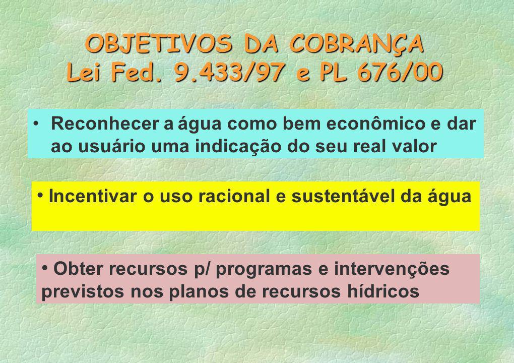 Simulação do Plano de Bacia p/ Cobrança na Bacia do Piracicaba, Capivari, Jundiaí