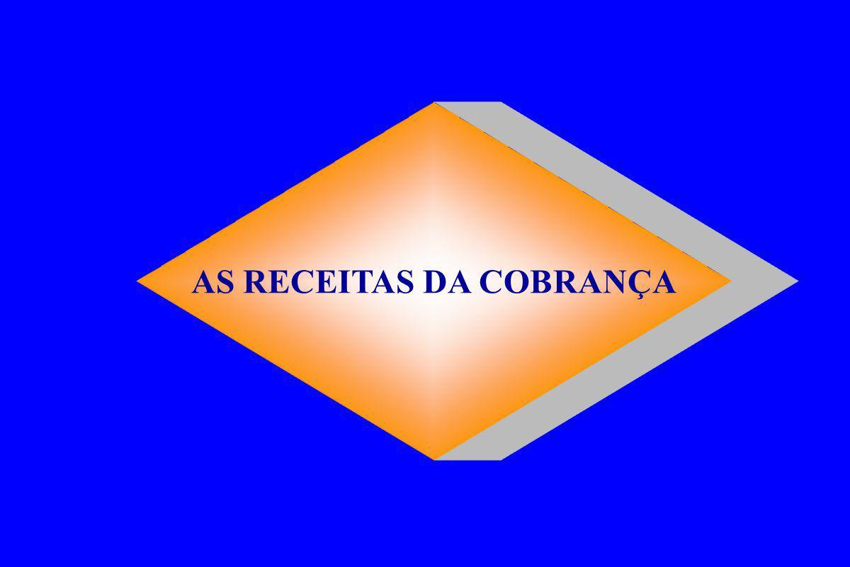 AS RECEITAS DA COBRANÇA