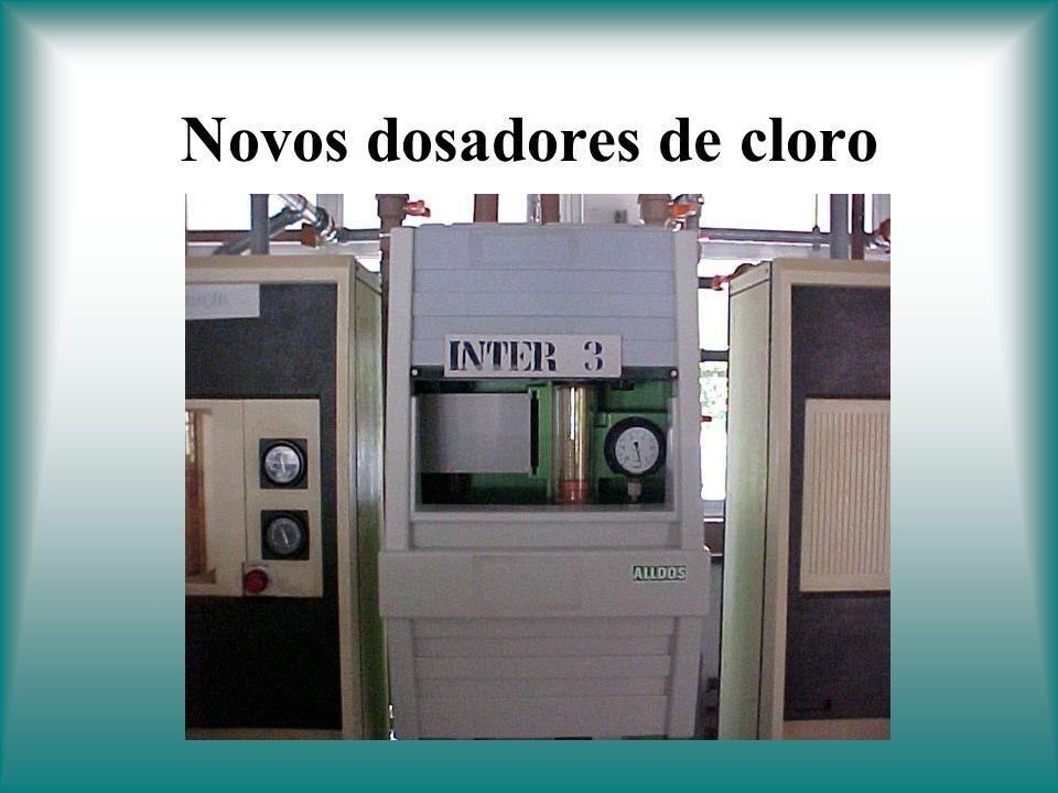 Novos dosadores de cloro