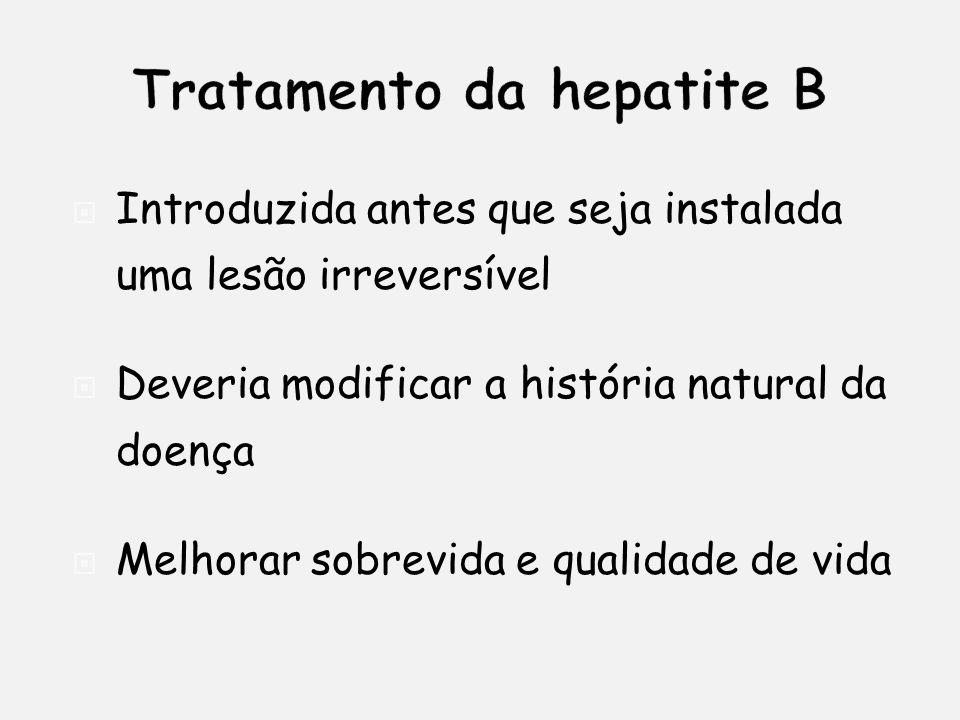 Introduzida antes que seja instalada uma lesão irreversível Deveria modificar a história natural da doença Melhorar sobrevida e qualidade de vida