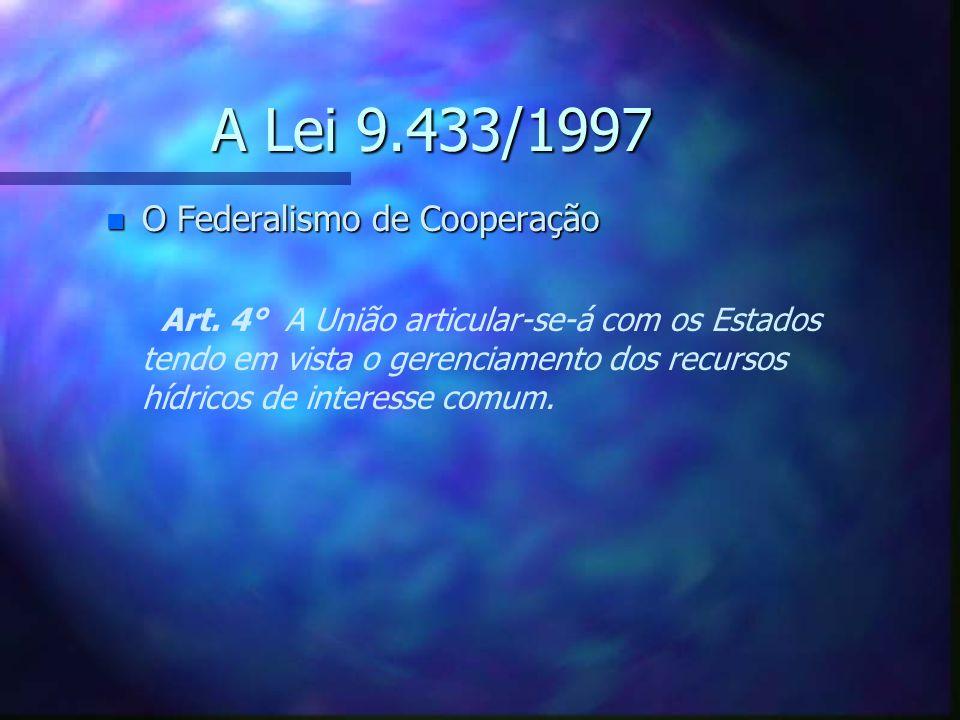 A Constituição de 1988 n O Federalismo de Cooperação - S - S aídas Art.