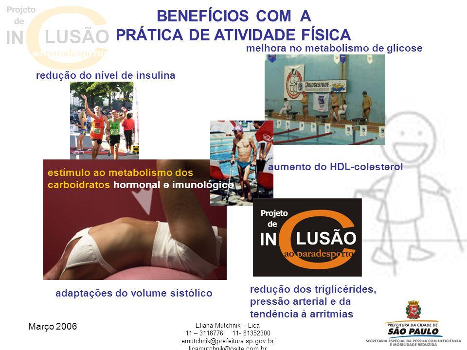 Março 2006 Eliana Mutchnik – Lica 11 – 311877611- 81352300 emutchnik@prefeitura.sp.gov.br licamutchnik@osite.com.br adaptações do volume sistólico red