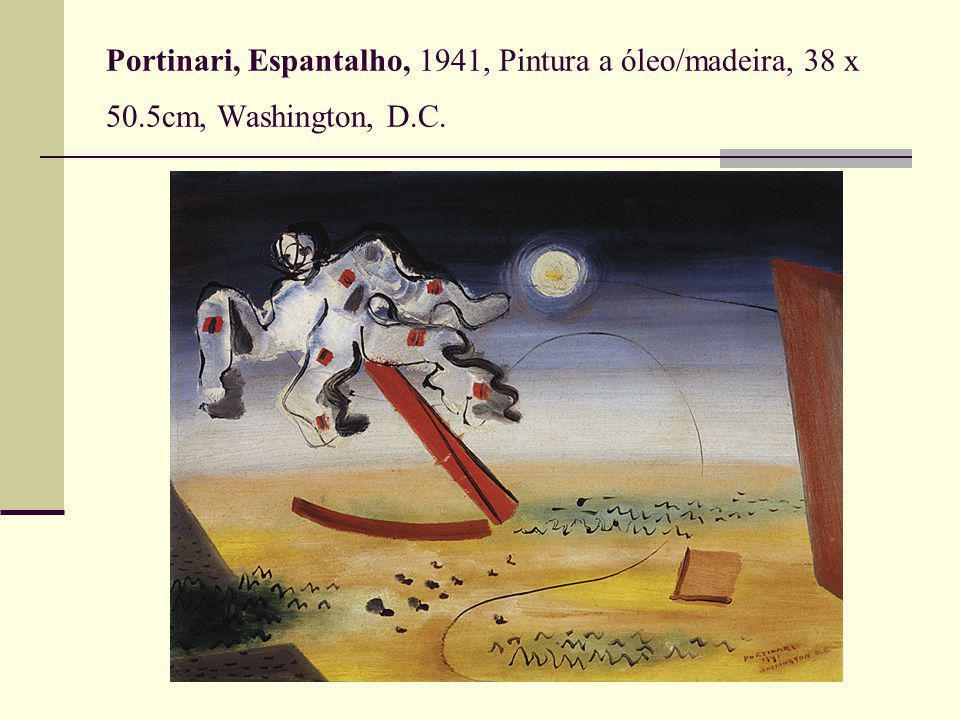 Portinari, Espantalho, 1941, Pintura a óleo/madeira, 38 x 50.5cm, Washington, D.C.