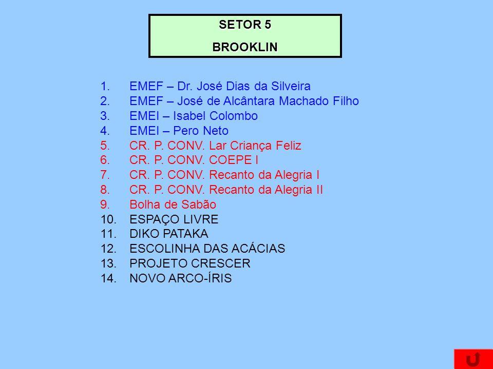 SETOR 5 BROOKLIN 1.EMEF – Dr.