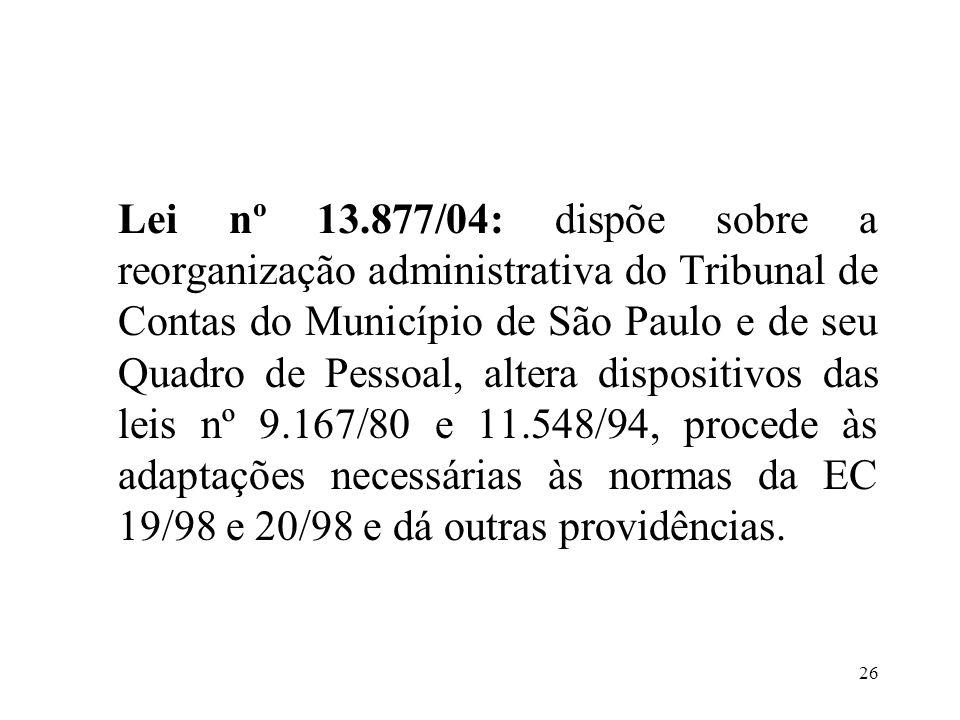 27 Principais disposições: 1.Os cargos efetivos do Quadro de Pessoal do Tribunal são estruturados em carreiras, que constituem o agrupamento de cargos da mesma denominação e níveis diversos.