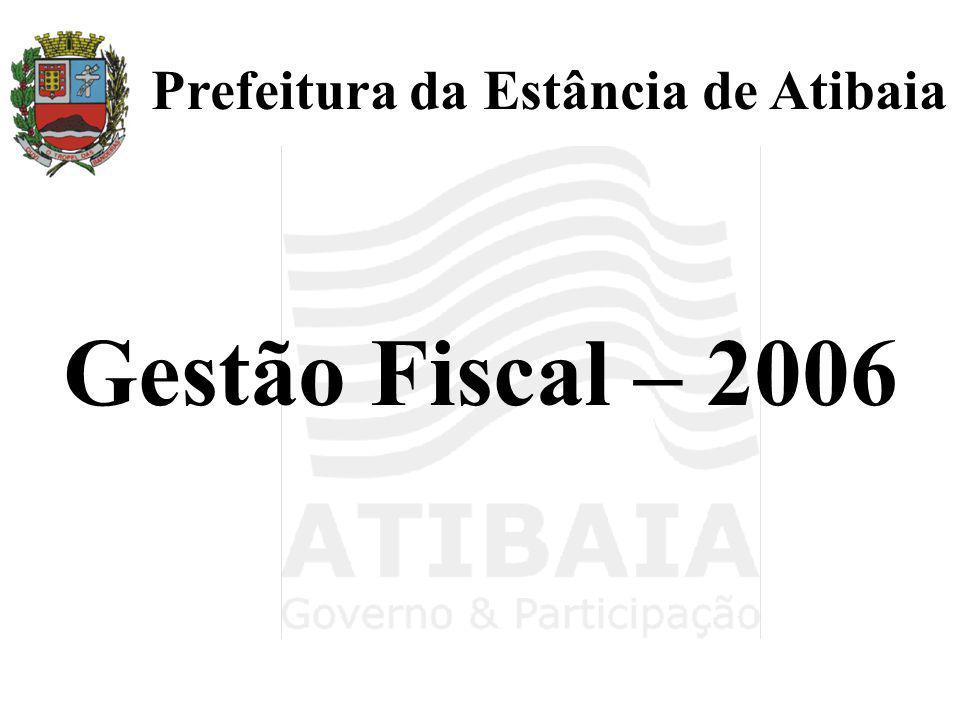 Gestão Fiscal – 2006
