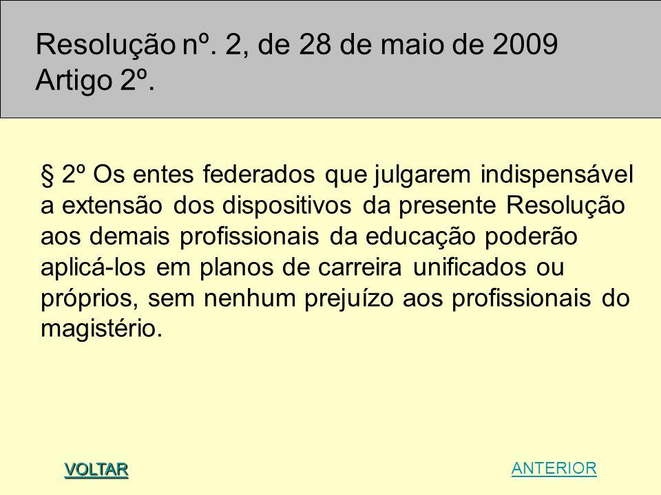 § 2º Os entes federados que julgarem indispensável a extensão dos dispositivos da presente Resolução aos demais profissionais da educação poderão apli