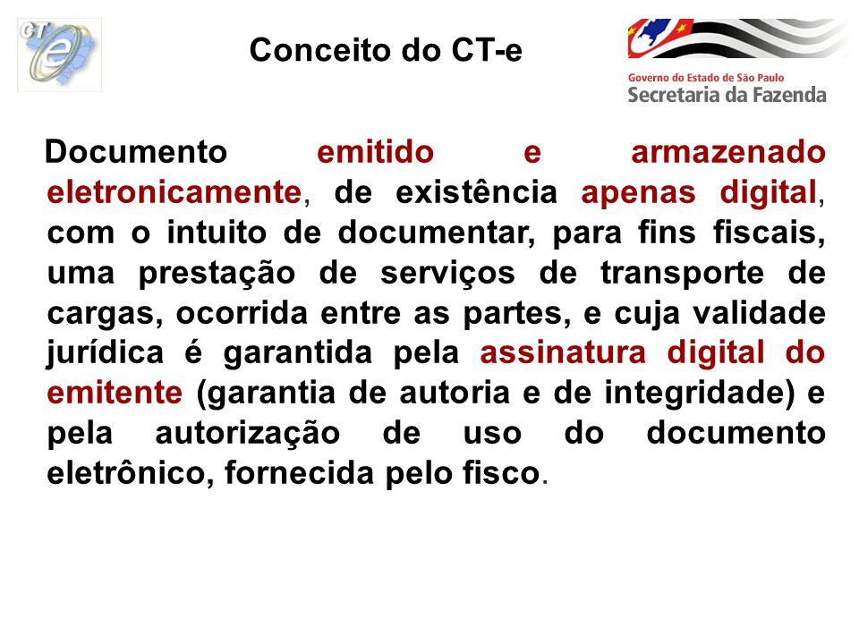 Documento emitido e armazenado eletronicamente, de existência apenas digital, com o intuito de documentar, para fins fiscais, uma prestação de serviço