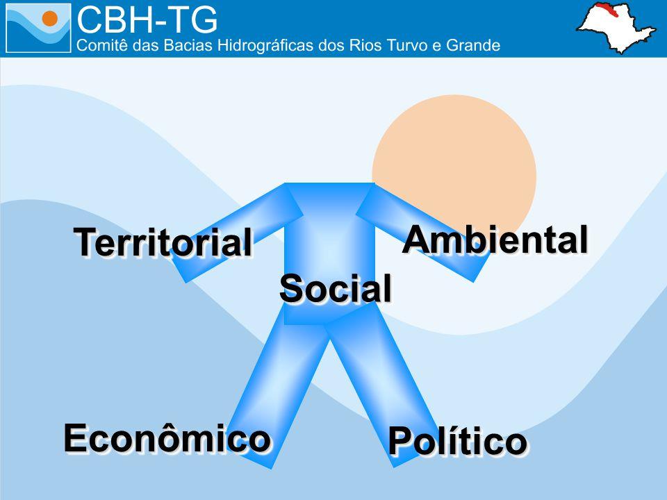 EconômicoEconômico SocialSocial TerritorialTerritorial AmbientalAmbiental PolíticoPolítico