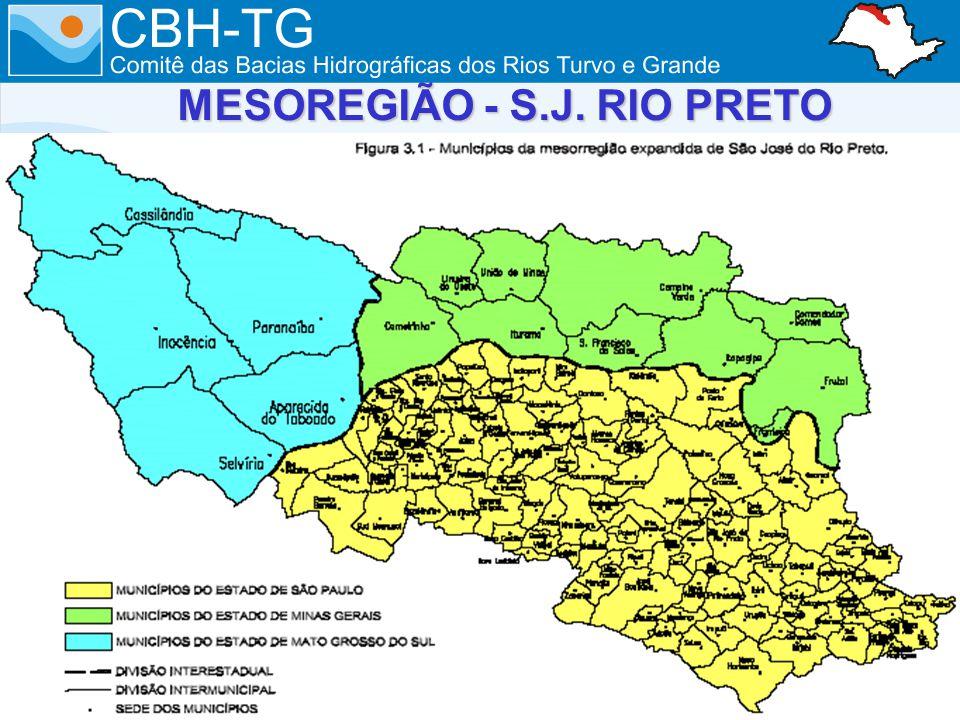 MESOREGIÃO - S.J. RIO PRETO