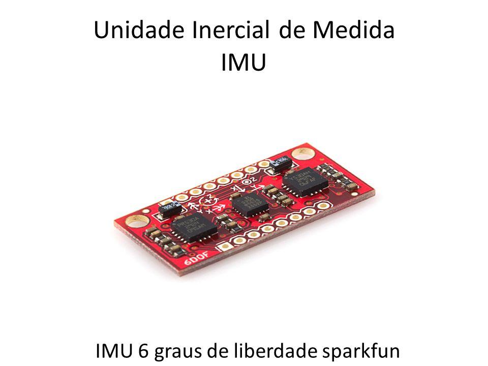 Unidade Inercial de Medida IMU IMU 6 graus de liberdade sparkfun