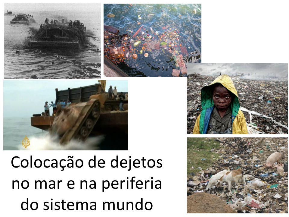 8 Colocação de dejetos no mar e na periferia do sistema mundo