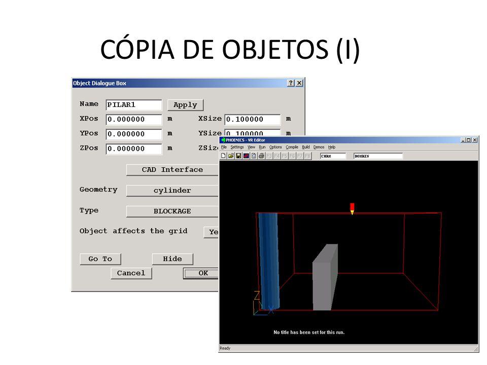 CÓPIA DE OBJETOS (I)