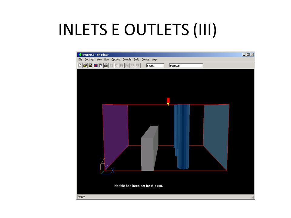 INLETS E OUTLETS (III)