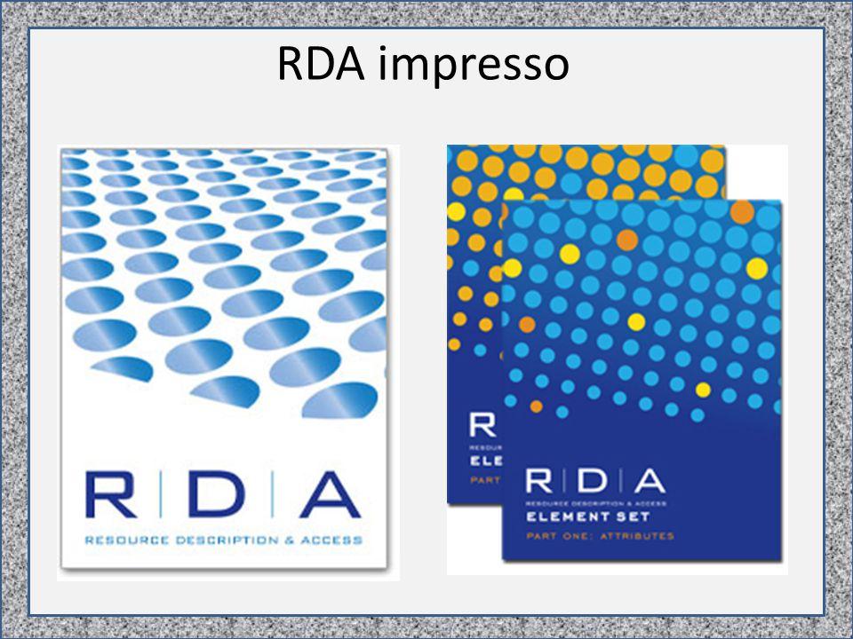 RDA impresso