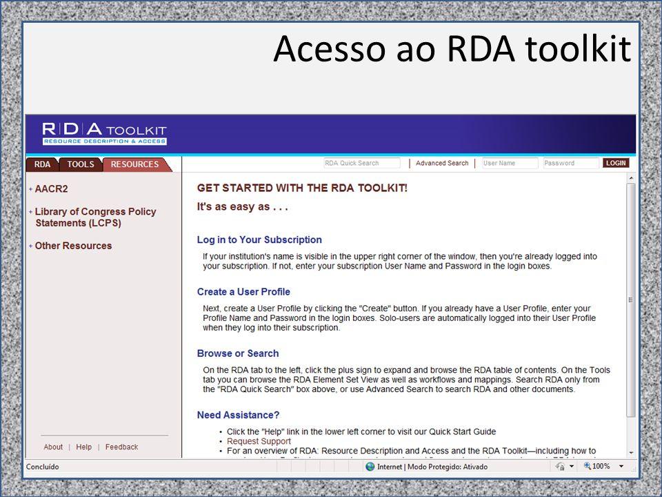 RDA AACR2 pequenas observações e comparações