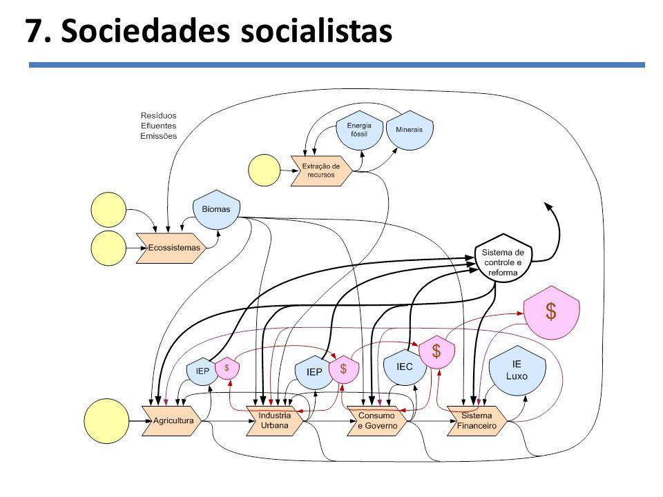 7. Sociedades socialistas