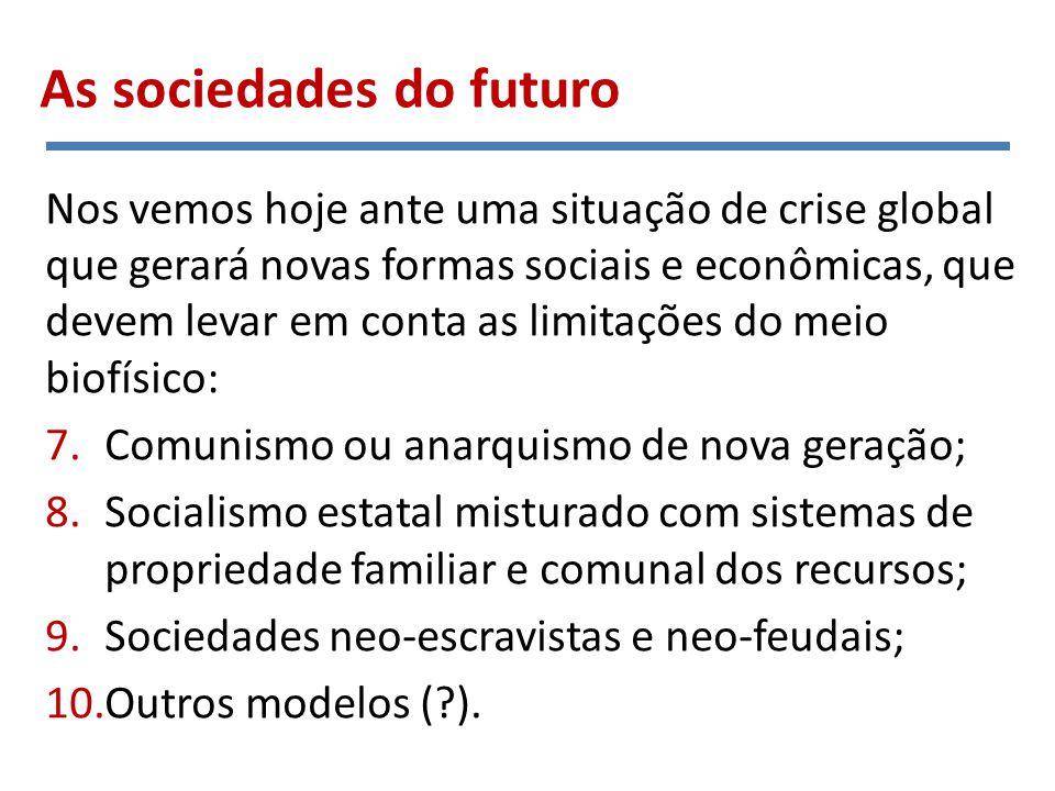 1. Comunismo primitivo Como funcionam esses modelos?