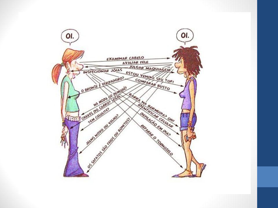 Paralinguagem A paralinguagem compreende: os sons ou expressões verbais que transmitem um significado (em geral, sentimentos), sem constituírem palavras: hum!, uau!.