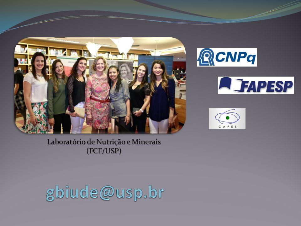 Laboratório de Nutrição e Minerais (FCF/USP)
