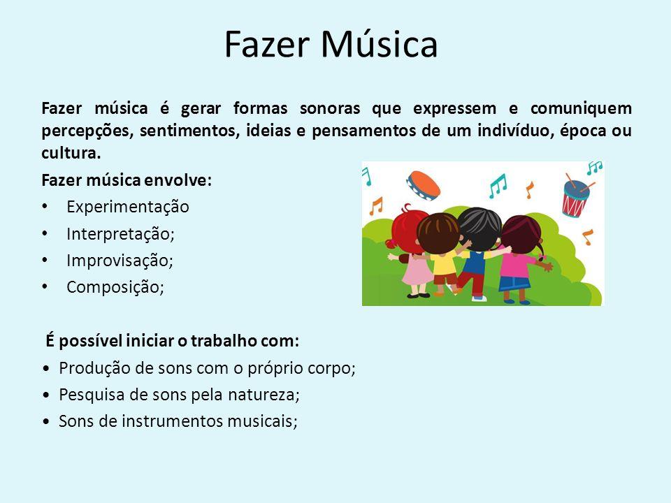 Extremamente Música na Educação Infantil Música é uma linguagem cujo  RS74