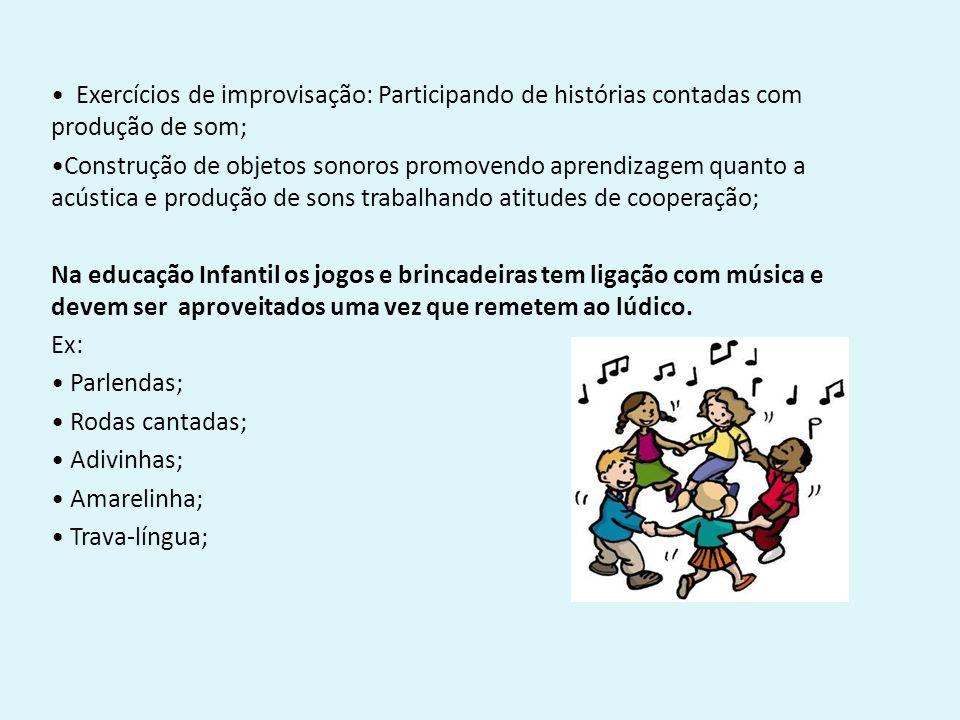 Famosos Música na Educação Infantil Música é uma linguagem cujo  SD72