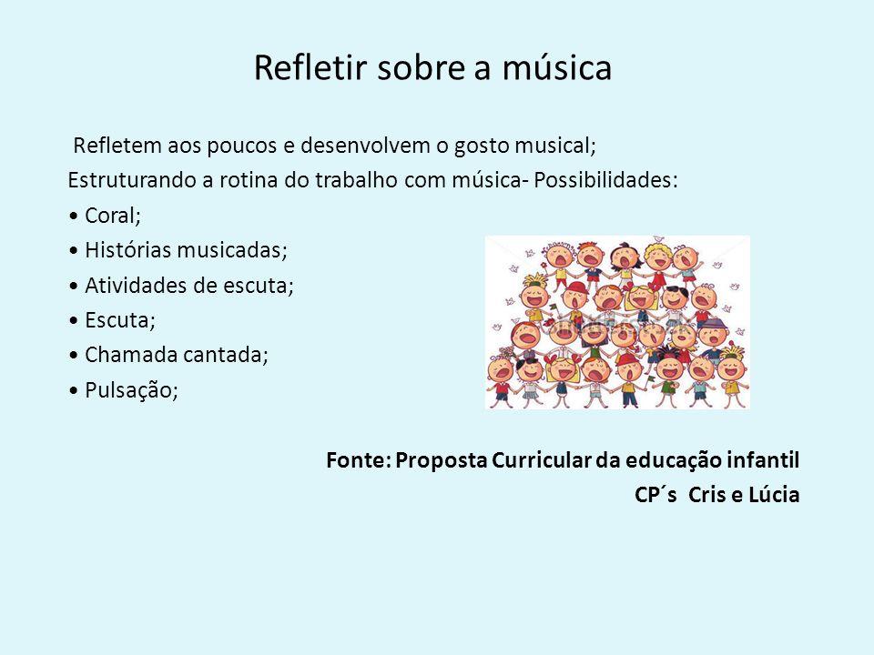 Extremamente Música na Educação Infantil Música é uma linguagem cujo  TU13