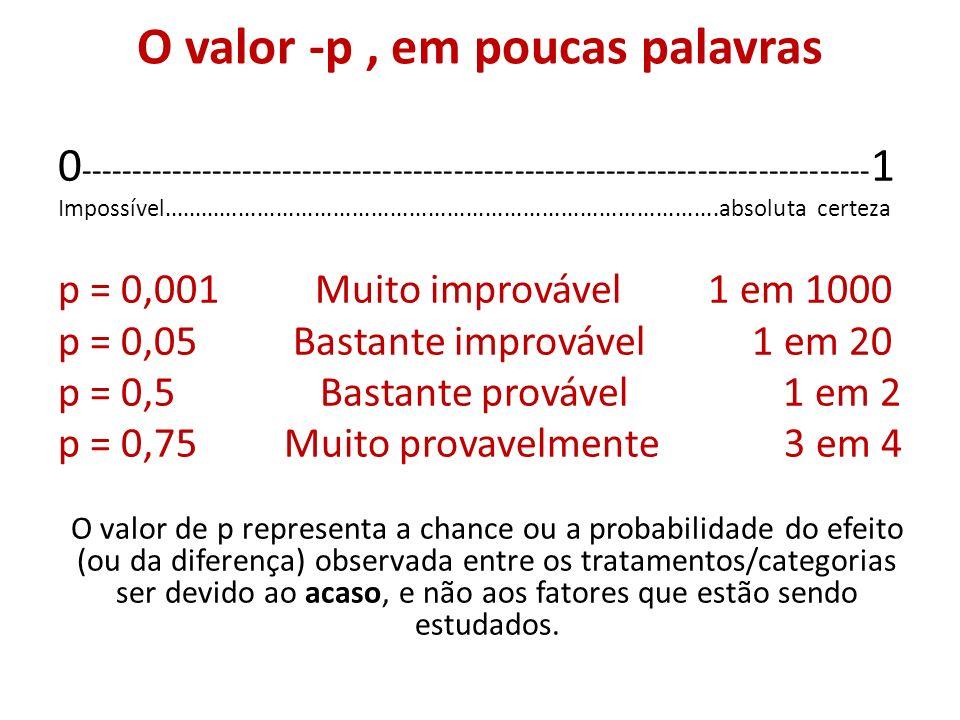 4 O valor -p ...