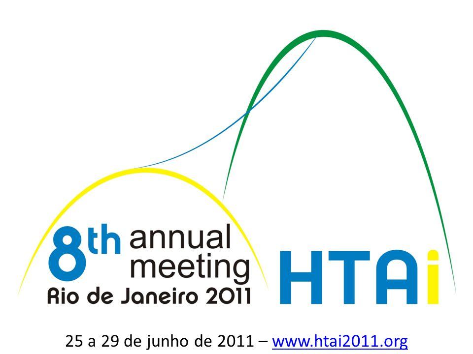 8 25 a 29 de junho de 2011 – www.htai2011.orgwww.htai2011.org