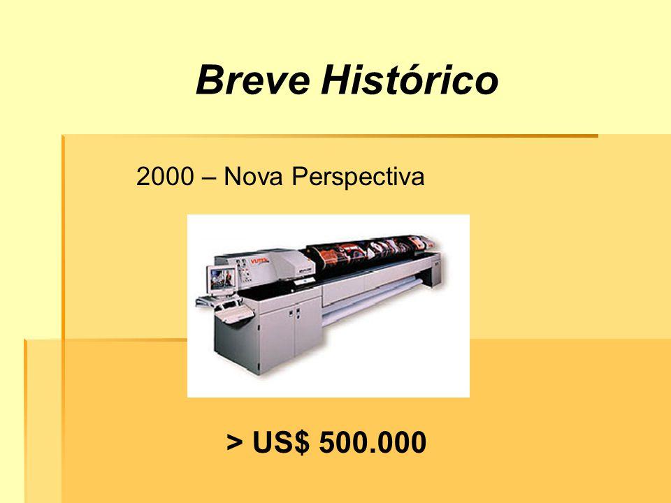 Breve Histórico 2000 – Nova Perspectiva > US$ 500.000