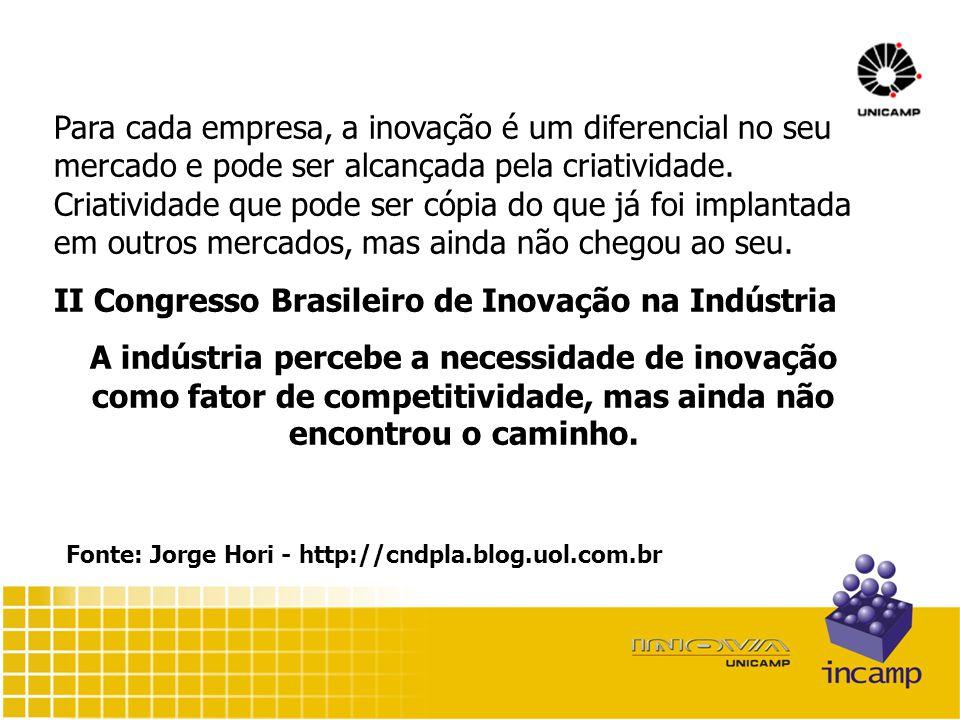 Para cada empresa, a inovação é um diferencial no seu mercado e pode ser alcançada pela criatividade.