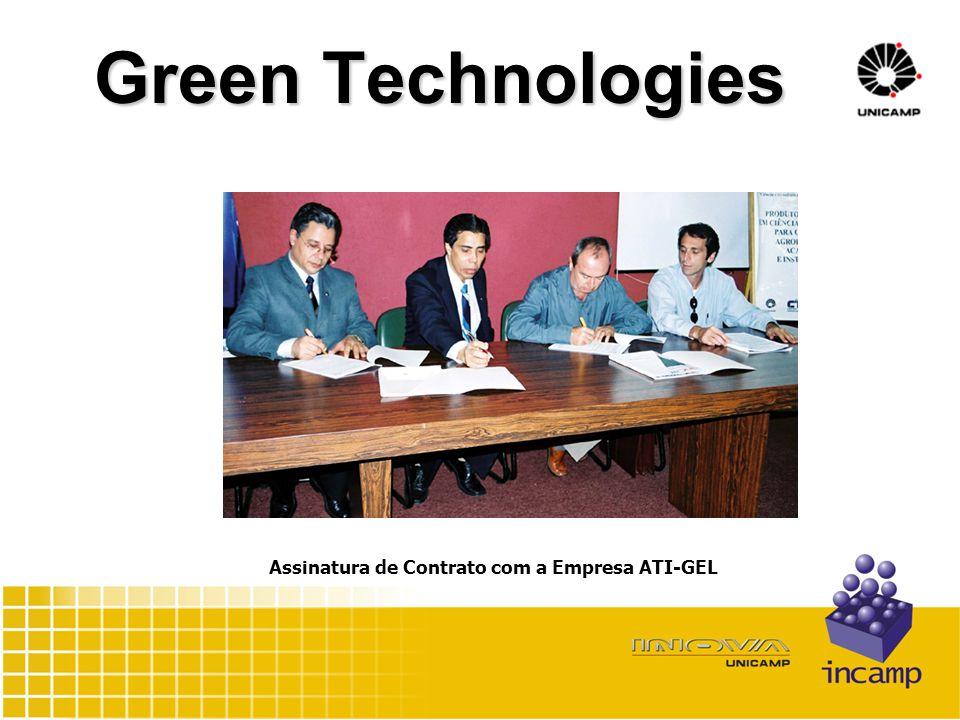 Green Technologies Assinatura de Contrato com a Empresa ATI-GEL