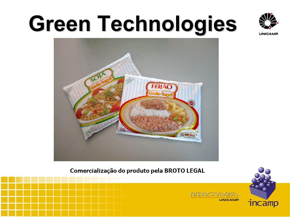 Green Technologies Comercialização do produto pela BROTO LEGAL