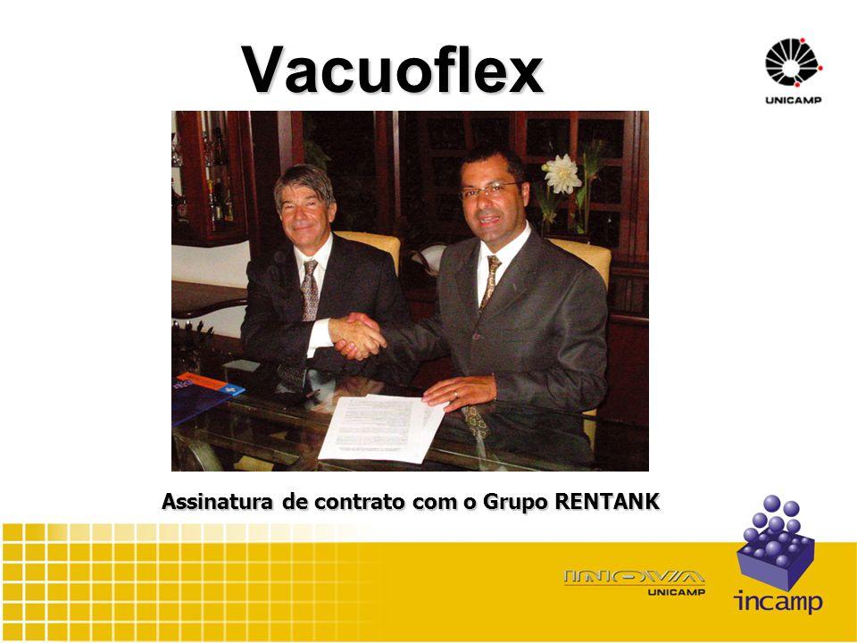Vacuoflex Assinatura de contrato com o Grupo RENTANK