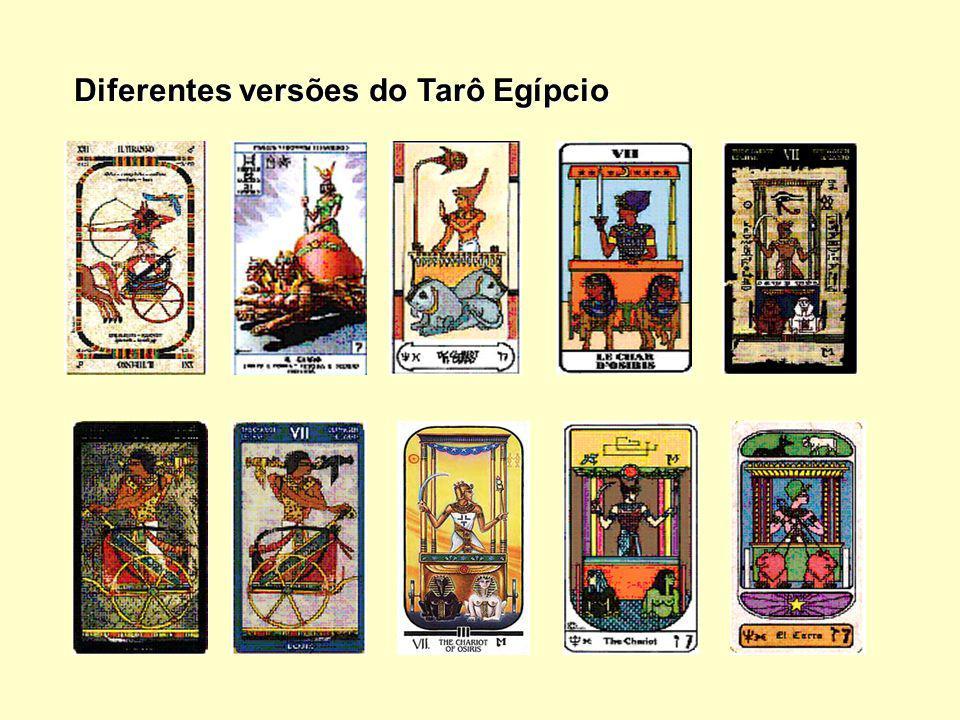 Diferentes versões do Tarô Egípcio