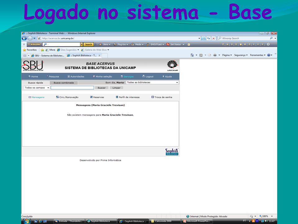Logado no sistema - Base Etiquetas 530.12 S29m 2 ed. e.12 Classificação de assunto Letra inicial do sobrenome do autor e número de classificação Númer