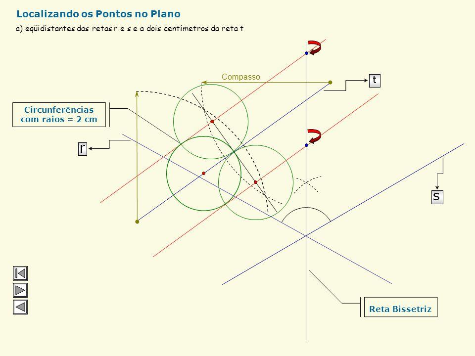 r A Distância entre o ponto A e a reta r Para desenhar aperte a tecla: Para apagar use a tecla : Distância entre um Ponto e uma Reta