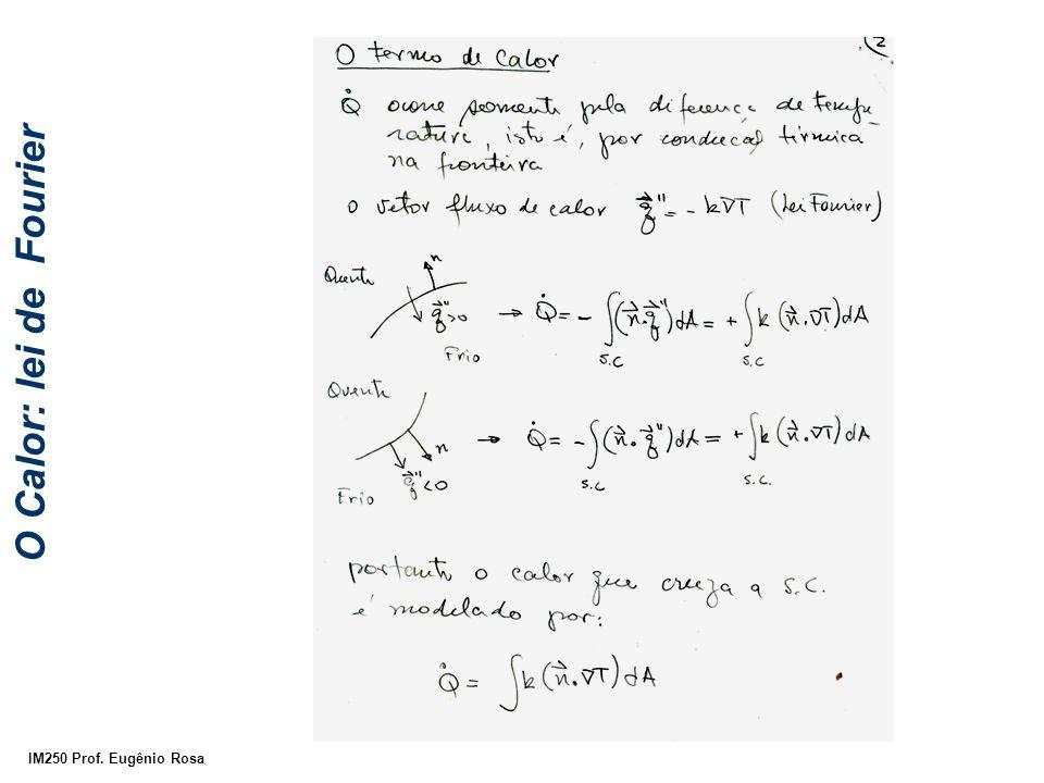 IM250 Prof. Eugênio Rosa O Calor: lei de Fourier