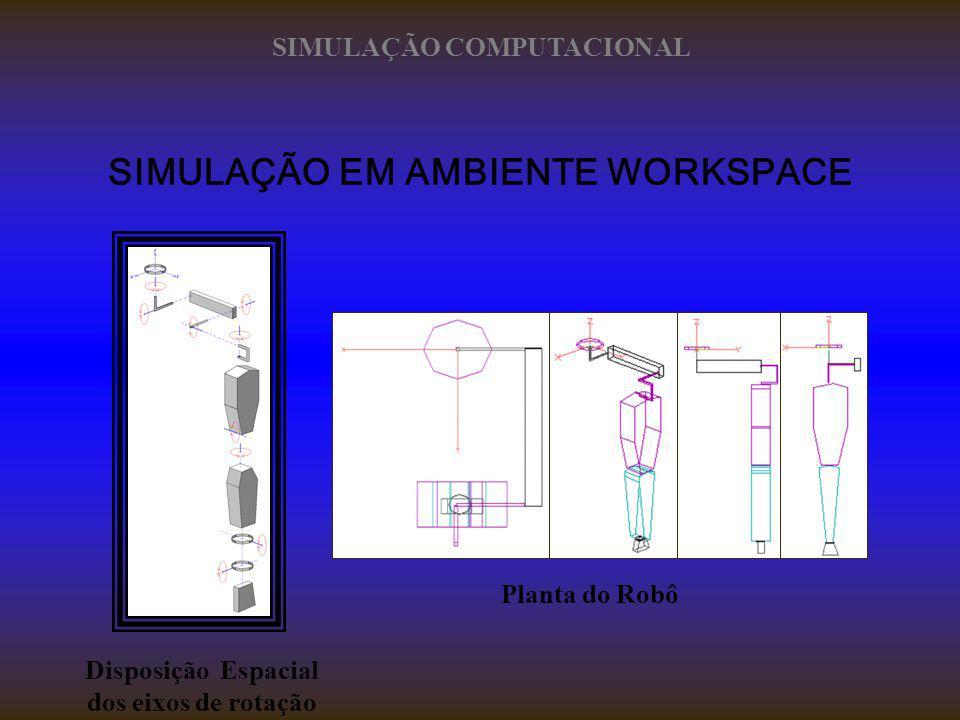 SIMULAÇÃO EM AMBIENTE WORKSPACE SIMULAÇÃO COMPUTACIONAL