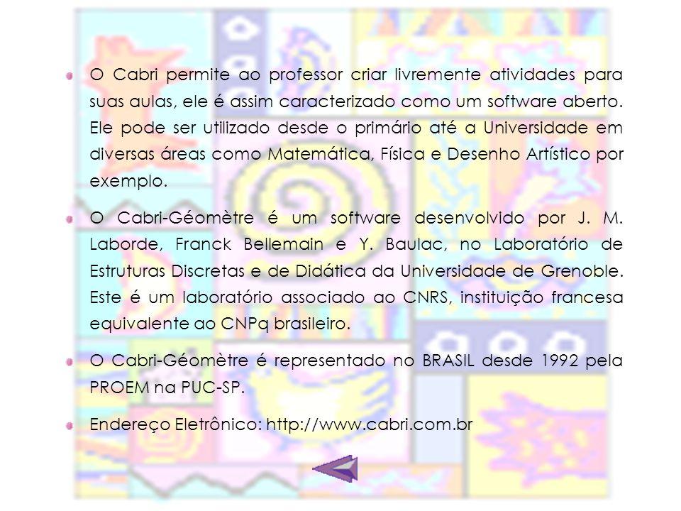 Quem utiliza.O Cabri está disponível em mais de 40 países e em 24 idiomas diferentes.
