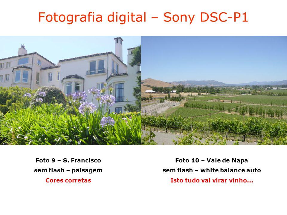 Fotografia digital – Sony DSC-P1 Foto 9 – S.